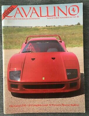 Ferrari Cavallino Magazine Issue # October/November 1987 No.41