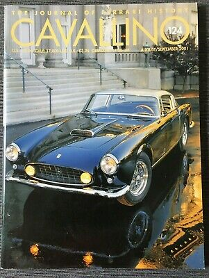 Ferrari Cavallino Magazine Issue # August/September 2001 No.124
