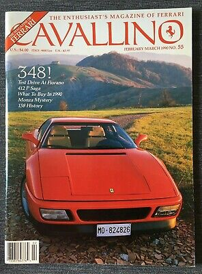 Ferrari Cavallino Magazine Issue # February/March 1990 No.55
