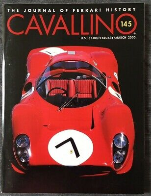 Ferrari Cavallino Magazine Issue # February / March 2005 No.145