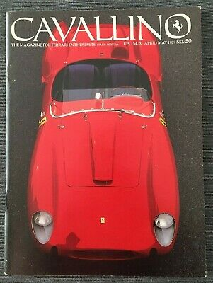 Ferrari Cavallino Magazine Issue # April/May 1989 No.50