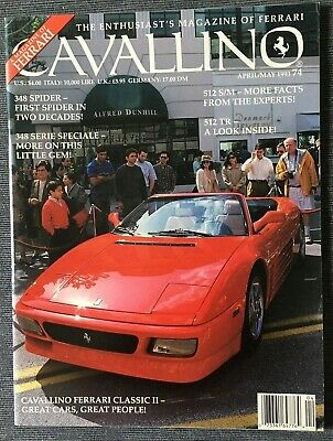 Ferrari Cavallino Magazine Issue # April/May 1993 No.74