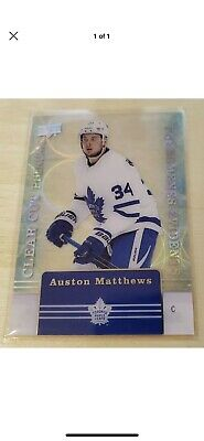 2019-20 Upper Deck Tim Hortons Clear Cut Phenoms Auston Matthews CC-15