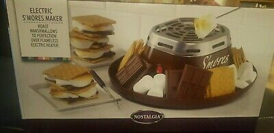 Nostalgia Indoor Electric S'mores Maker (SMM200) - Brand New, Ships Free!