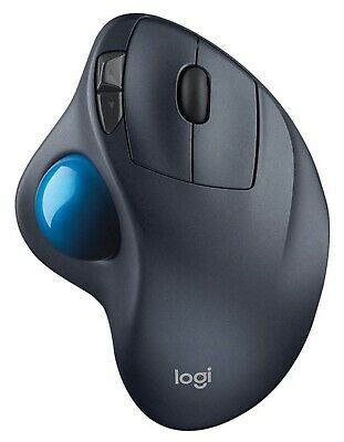 Logitech Optical Ergonomic Mouse USB M750 Wireless Trackball for PC and Mac