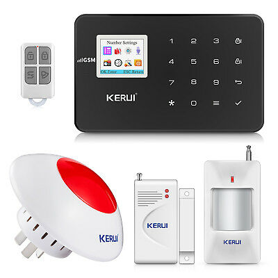 KERUI G18 GSM Wireless Home Security Alarm System Automatic Dialing Alarm
