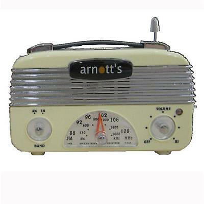 Retro Vintage 40's AM/FM Radio Vintage Cream