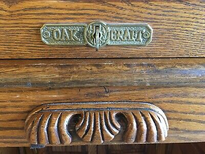 Solid Oak Roll Top Antique Desk (local Pickup Only)