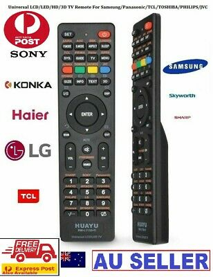 Universal TV Remote Control LCD/LED For Sony/Samsung/Panasonic/LG/TCL/Soniq qt