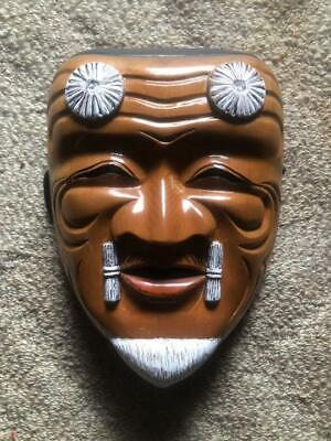 Weng Noodle Noh Mask Traditional Crafts Culture Antique Japanese Talisman