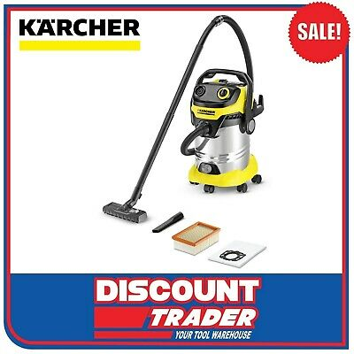 Karcher Wet & Dry Vacuum Cleaner 1800 Watt MV 5 Premium WD 5 1.348-236.0
