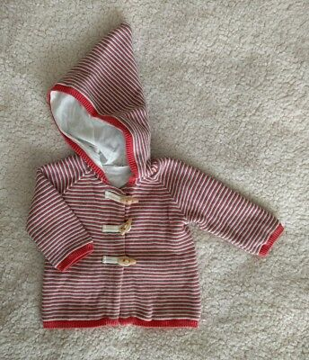 Jack & Milly Baby Boy hooded duffle Jacket coat size 00