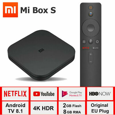Xiaomi Mi Box S 4K HDR Android TV con Google Assistant Remote Streaming Player