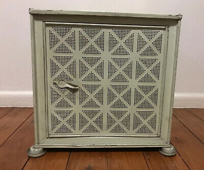 Vintage Willow Meat Safe in Excellent Condition