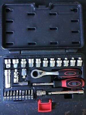 "R.S Pro 29 Piece Socket Set 1/4"" Square Drive"