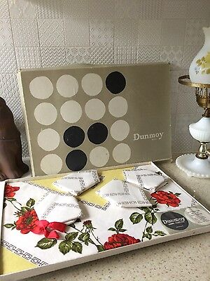 Antique Table Linen Set Made in Ireland - Xmas or anytime table