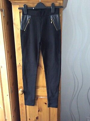River Island Black Trousers Age11/12