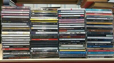 Job Lot Box of 90 Ex-Library Music CDs