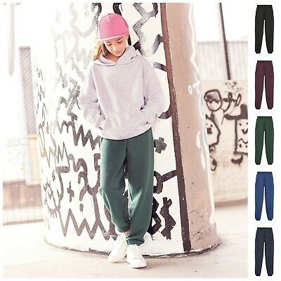 Boys Girls Jogging Pants Plain Joggers Sweat Pants Kids PE Sports Kit Trousers