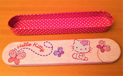 HELLO KITTY Trousse métal à crayons SANRIO Collector 2010 NEUVE RARE Pencil case