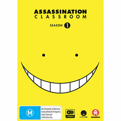 Assassination Classroom Complete Season 1 DVD NEW (Region 4 Australia)