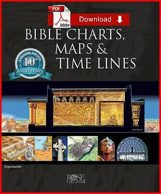 {PDF} Rose Book of Bible Charts, Maps, and Time Lines 10th Edition {Ebôôk - PDF}