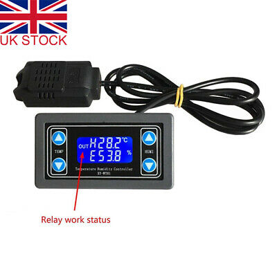 Thermostat Automatic Constant Temperature and Humidity Control Board Dual Output