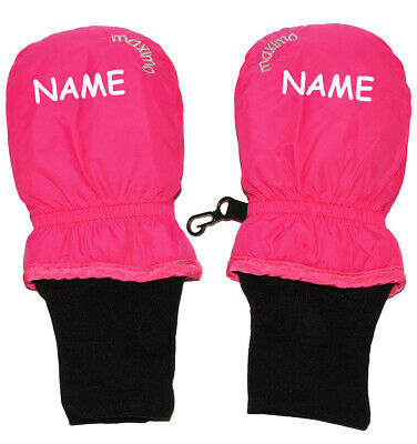 """Gloves/Mittens - """" Pink """" - Baby - Sizes: 0 Months to 1,5 Years"""