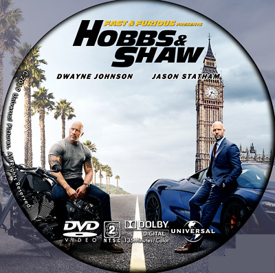 Fast And Furious Presents: Hobbs And Shaw DVD Only No Case