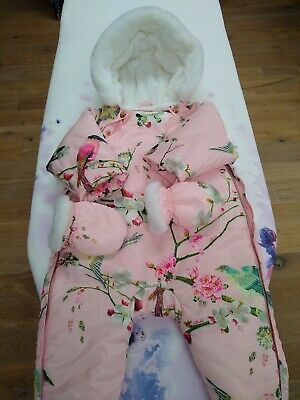 Ted Baker Baby Girl Snowsuit-size 3-6months.