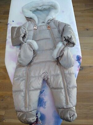 Ted Baker Baby Girl Snowsuit-size 0-3months.