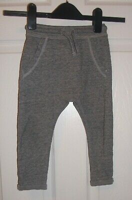 Boys Charcoal Gret Soft Joggers/Trousers  Age 18-24 Months
