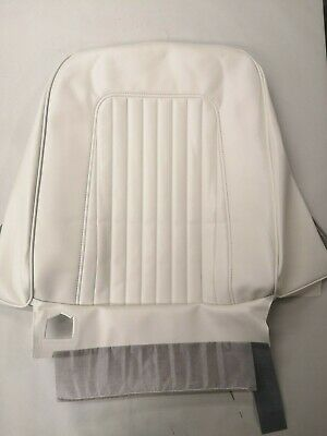 1967 1968 Camaro Standard Front Bucket Seat Covers - White