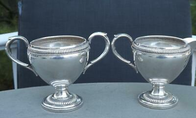 Vintage Fisher Sterling Silver Cream Jug Pitcher & Sugar Set Weighted 215 Grams