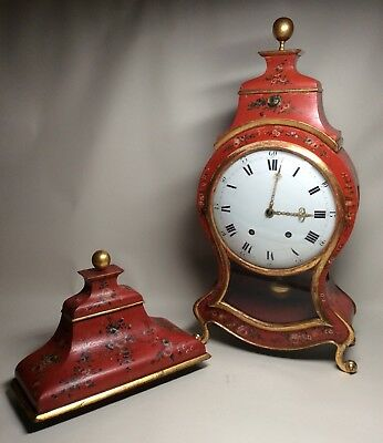 Large Late 18th Century Swiss/South German 1/4 Repeater Quarter Bracket Clock