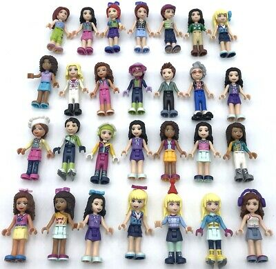 Lego New Friends Minifigures Girl And Boys Women Female Figures You Pick!