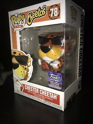 Funko Pop Hollywood Exclusive Ad Icons Cheetos Chester Cheetah With Sunglasses