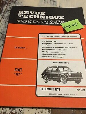 Revue Technique Automobile Fiat 127 RTA