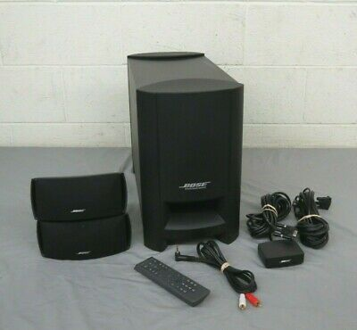 Bose Cinemate Series II GS Powered 2.1-Channel Home Theater Speaker System GREAT
