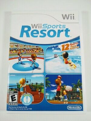 Wii Sports Resort (Nintendo Wii, 2009) Wii Game - CIB Complete
