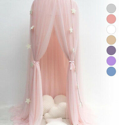 Kid Baby Bed Bedcover Mosquito Netting Curtain Bedding Dome Tent Room Decor BR