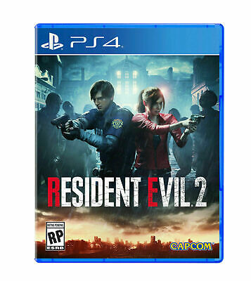 RESIDENT EVIL 2 (Sony Playstation 4, PS4) Factory Sealed *PRE-SALE*