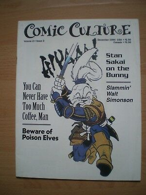 Comic Culture Magazine, December 1994, Volume 2, Issue 2