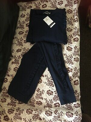 Cherry Couture Girls Jogging Suit Age 12 Years Blue