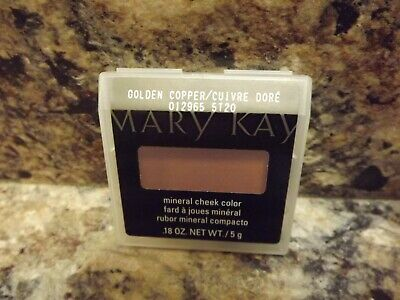 Mary Kay Golden Copper Mineral Cheek Color (NEW) #012965