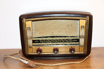 "Radio  ""Ducastel Junior "" Lampe Ancienne  Collection Tsf Vintage"
