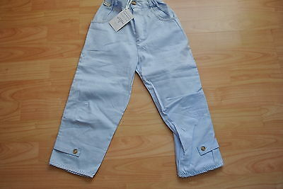 BNWT D'Arcy Brown Girls 2 Years Summer Light Cotton Trousers