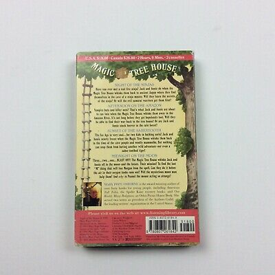 Magic Tree House Collection #2 Books 5 - 8 Audio Book Audio Cassette Car Travel