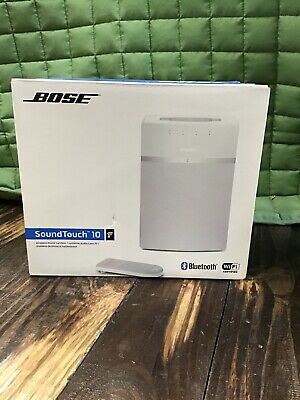Bose  SoundTouch 10 Wireless Music System - White BRAND NEW IN BOX