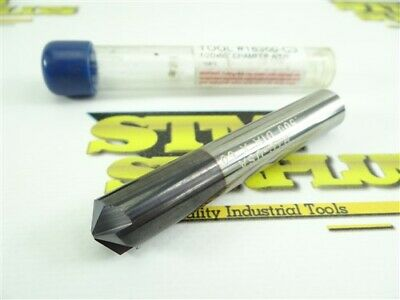 """New! Harvey Tool Company Solid Carbide Chamfer Cutter .500"""" X 60°"""